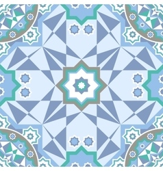Background with Islamic Seamless Pattern vector image vector image