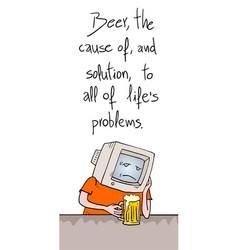 Beer sentence vector