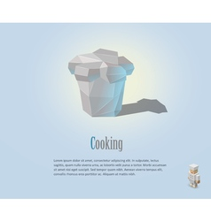 Chef hat cooking cap vector