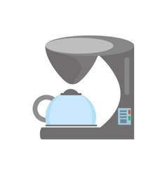 Coffee machine appliance kitchen vector