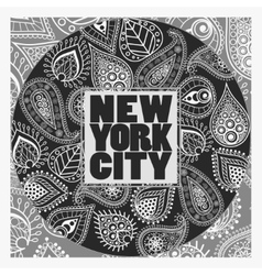 New York T-shirt fashion Typography vector image vector image
