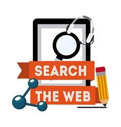 Search web vector