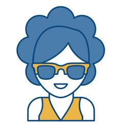 Sunglasses accessory design vector
