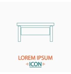 Table computer symbol vector