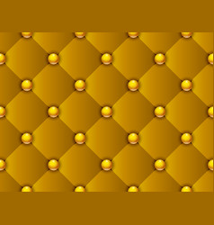 Upholstery gold pattern vector