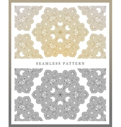 Symmetry seamless pattern vector
