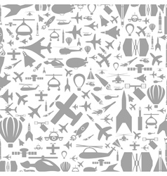 Aircraft a background vector image vector image