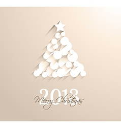 Delicate 2013 Christmas background vector image vector image