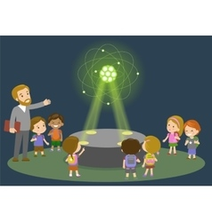 Innovation education elementary school learning vector image vector image