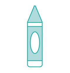 Isolated crayon design vector