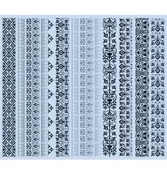 retro set lines vector image vector image