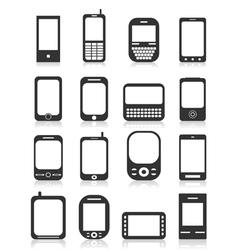 Icon phone icons vector