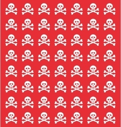 Skull danger risk vector