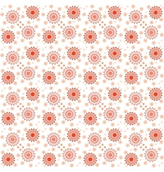 Floral pattern for printing cmyk vector
