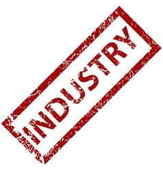 Industry rubber stamp vector
