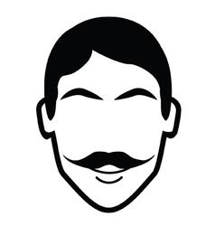 Fancy moustache vector
