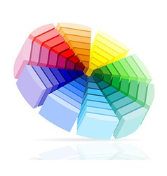 Color palette 02 vector