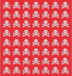 Skull danger risk vector