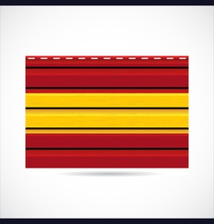 Spain siding produce company icon vector image