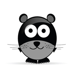 sweet and cute mouse vector image vector image