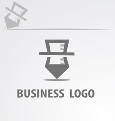 Business logotype vector