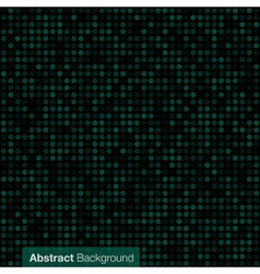 Abstract screen green background vector