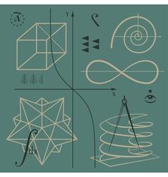 Chisla vector image