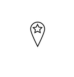 Favorite placeholder icon vector