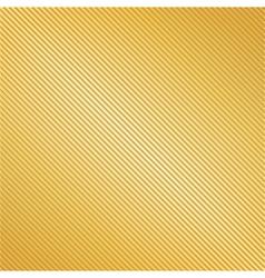 Golden Striped Background vector image vector image