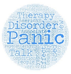Talk therapy effective treatment for panic vector