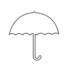 umbrella pictogram icon image vector image vector image