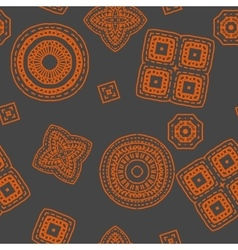 Geometric pattern background for your design new vector