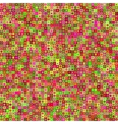 Abstract seamless pattern with circles and squares vector image