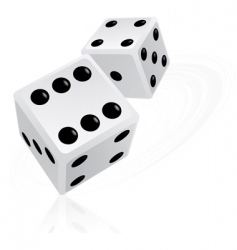 Dice objects vector