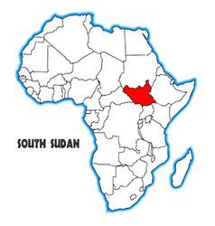 South sudan vector