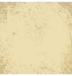 Scratched vintage grunge background vector image
