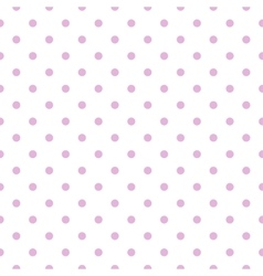 Dotted seamless background vector
