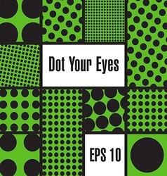 Dot boxes vector