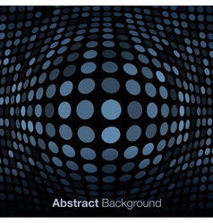 Abstract blue gray technology background vector