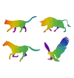 Animals Logo Templates vector image vector image