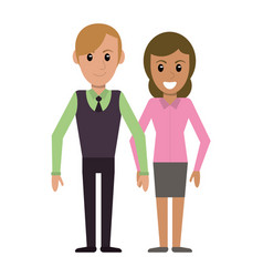 couple people relationship image vector image