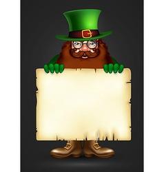 St Patricks design vector image