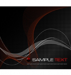 abstract grid design vector image vector image