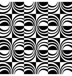 seamless checked design vector image