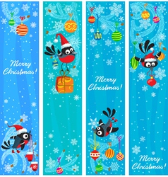 hristmas banners vector image