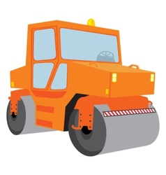 Roller machine vector image