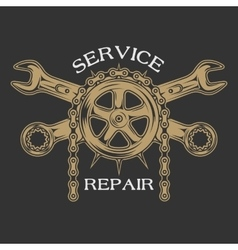 Service repair and maintenance vector