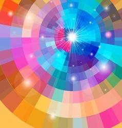 Bright multicolored a gradient background vector