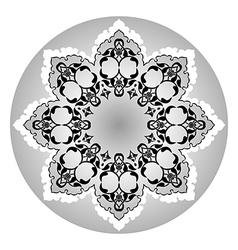 Antique ottoman turkish design eleven vector