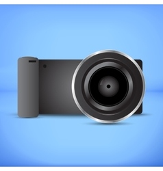 Digital photocamera vector image